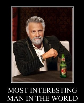 dos equis, most interesting man in the world, XX, brand mascot, beards, graphic design