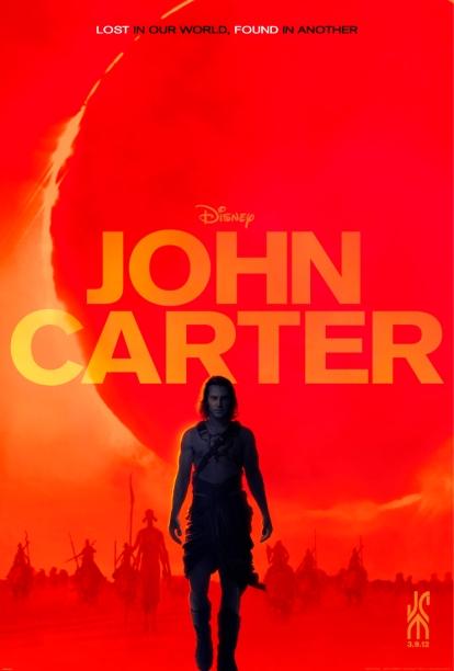 John Carter, Movie Poster, Marketing