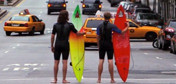 Surfing NYC